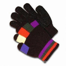 Children's Gloves, Made of 100% Wool, Customized Designs are Accepted, with Embroidery and Printing